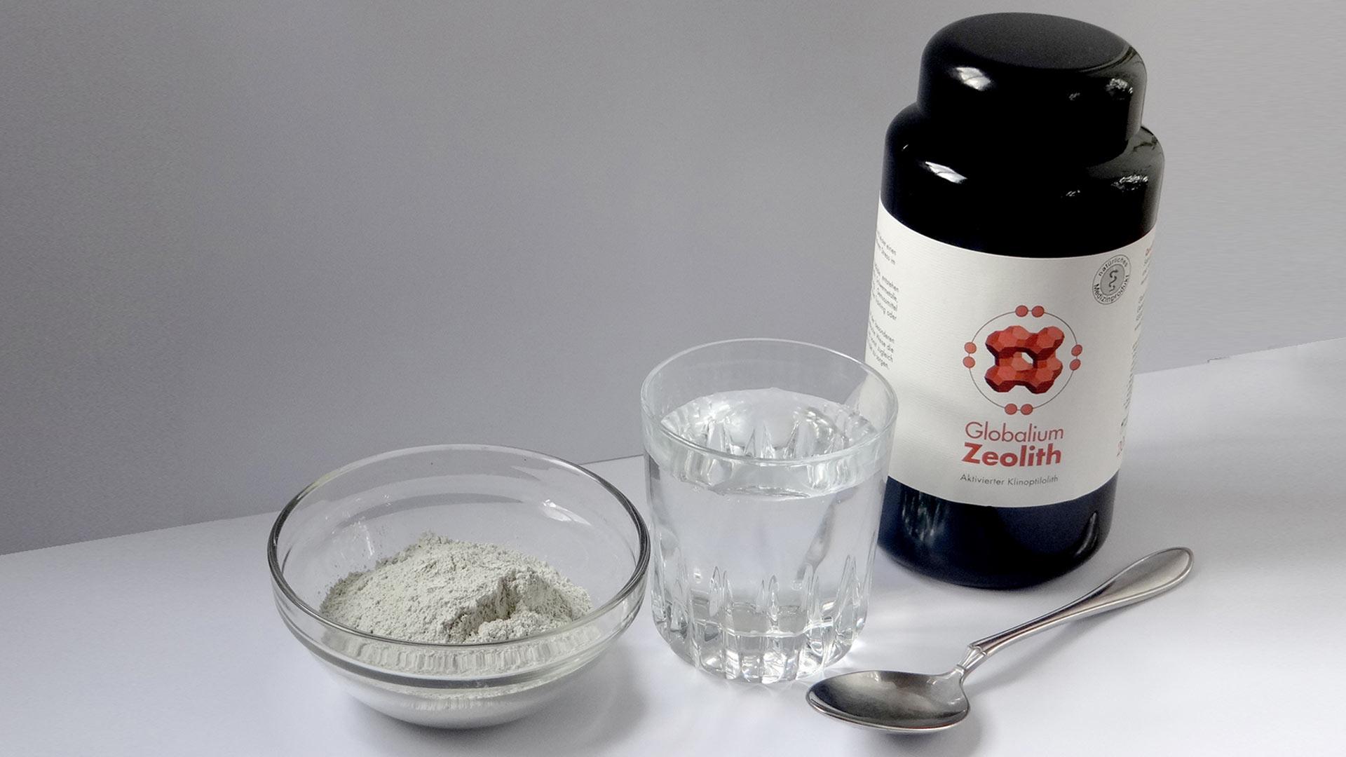 Zeolith-Quality Usage